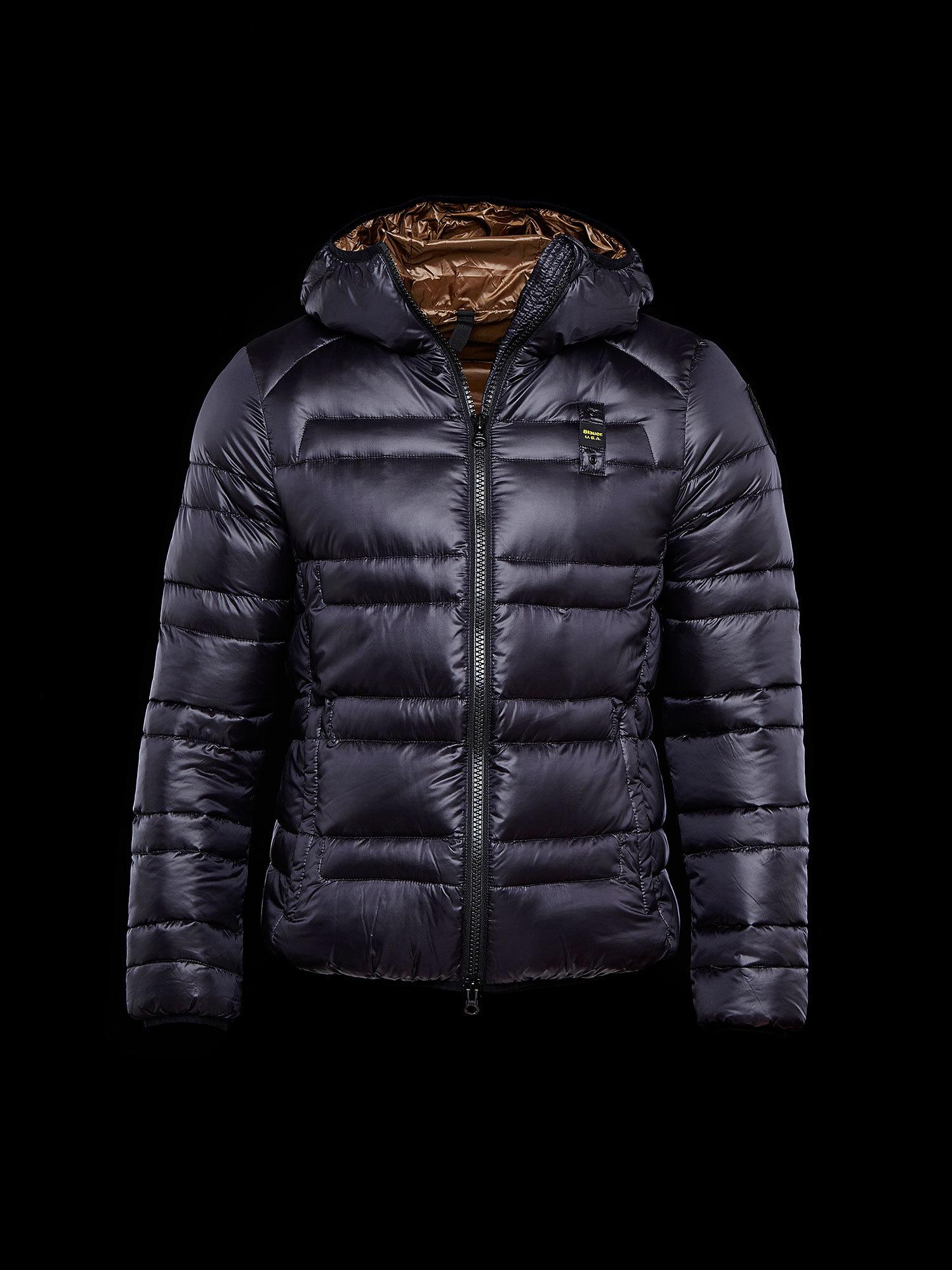 size 40 d0f0a 964b9 Piumino Blauer 100 grammi con cappuccio | Abbigliamento uomo ...